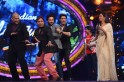 Sukhwinder Singh shakes a leg with the judges