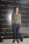 Acquin Pais at the launch of THE COLLECTIVE Style Book - The Green Room