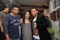Arjun Kapoor with Anaita and Sunny Sara