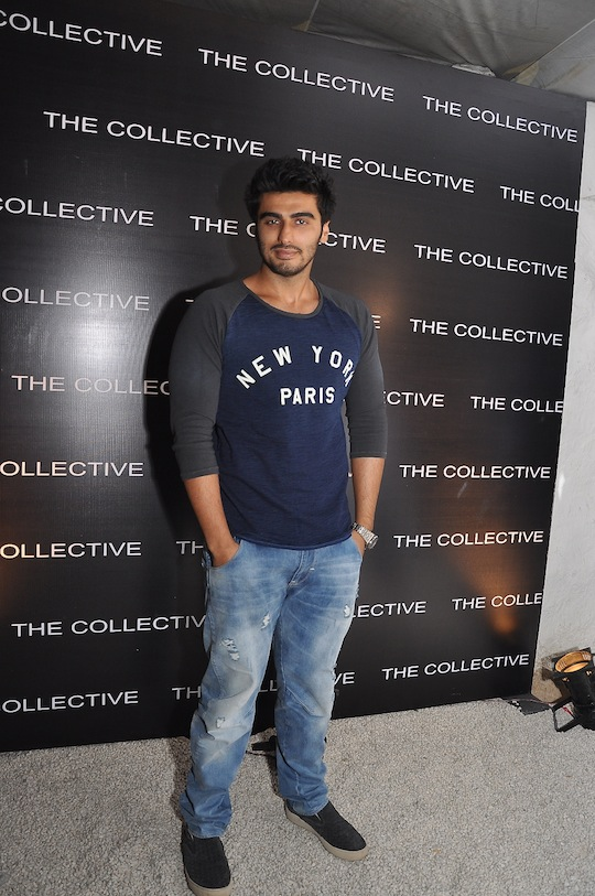 Arjun Kapoor makes a stylish entry