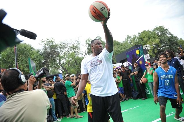 NBA Jam in Delhi.