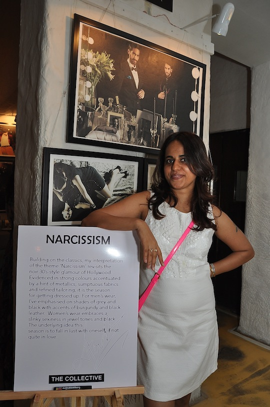 Nitasha Gaurav with the theme of Narcissism