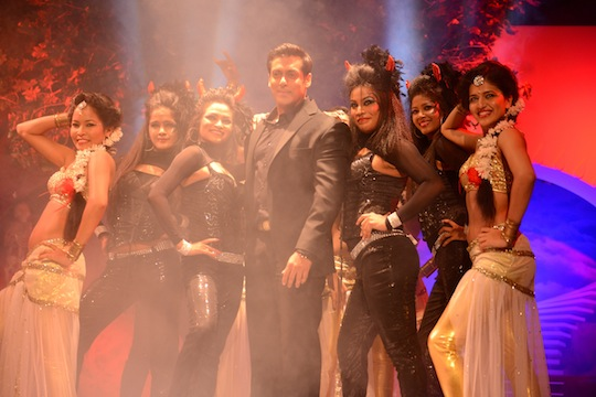 Salman cheekily said that most people would say that they like the angel everyone likes the devil.