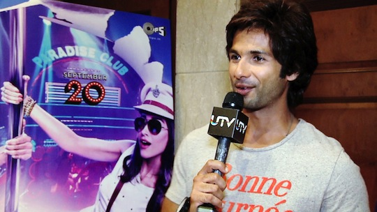 Shahid opens up about the early days of his career