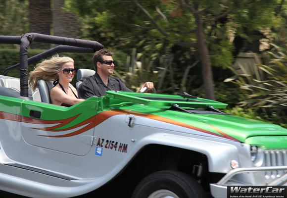 WaterCar Panther Amphibious Car