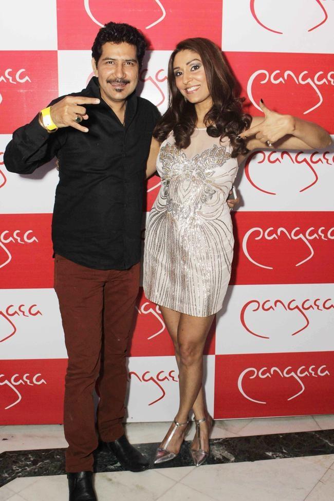 Pooja Misrra with Shankar Sahni