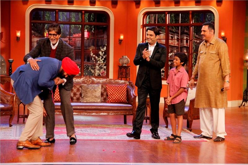 Navjot Singh Sidhu and Amitabh Bachchan
