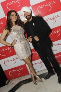 Pooja Misrra with a guest
