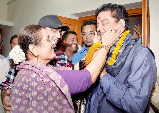 Shatrugan Sinha and Poonam Sinha