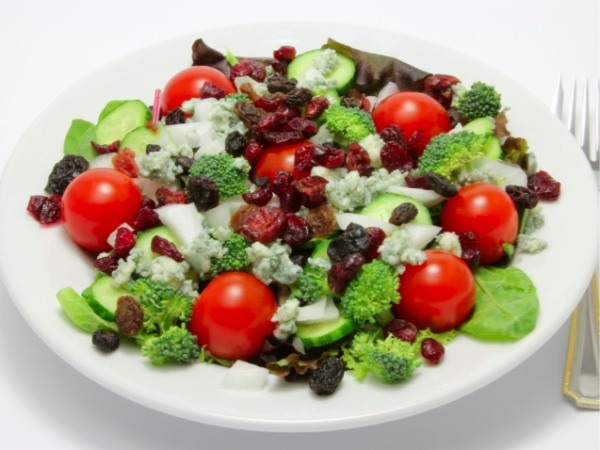 20 Healthy Summer Recipes and Summer Drinks Fruity Green Salad