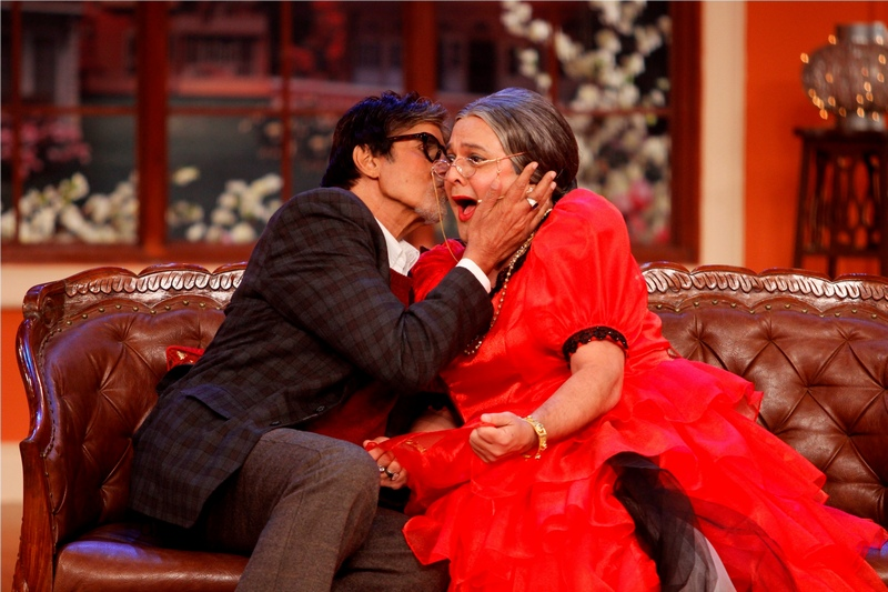 Amitabh Bachchan and Dadi