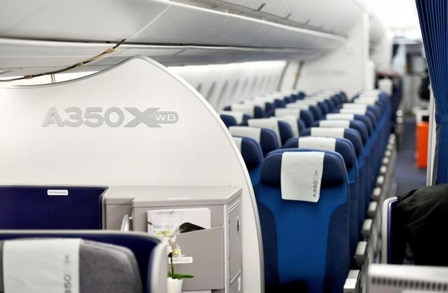 Inside the New Airbus A350 XWB