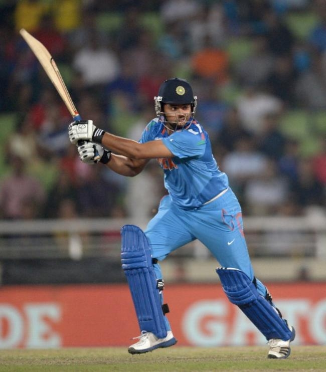 Suresh Raina scored invaluable 21