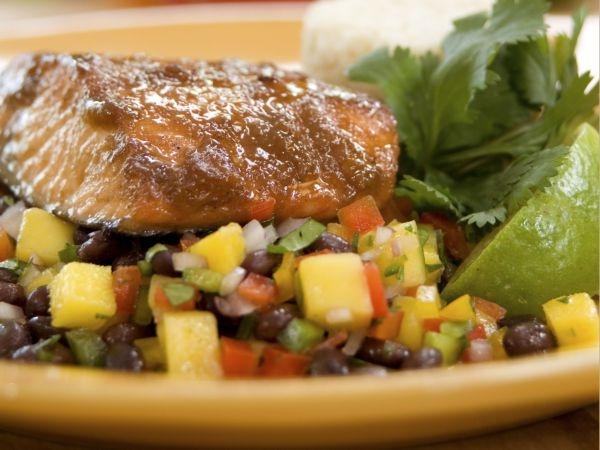 20 Healthy Summer Recipes and Summer Drinks Mango Salsa