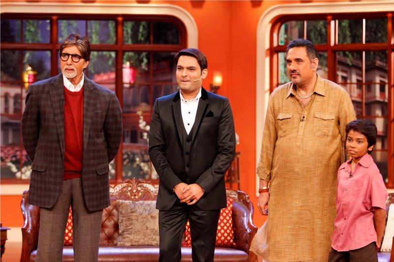 Amitabh Bachchan, Boman Irani, Parth Bhalerao, Kapil Sharma