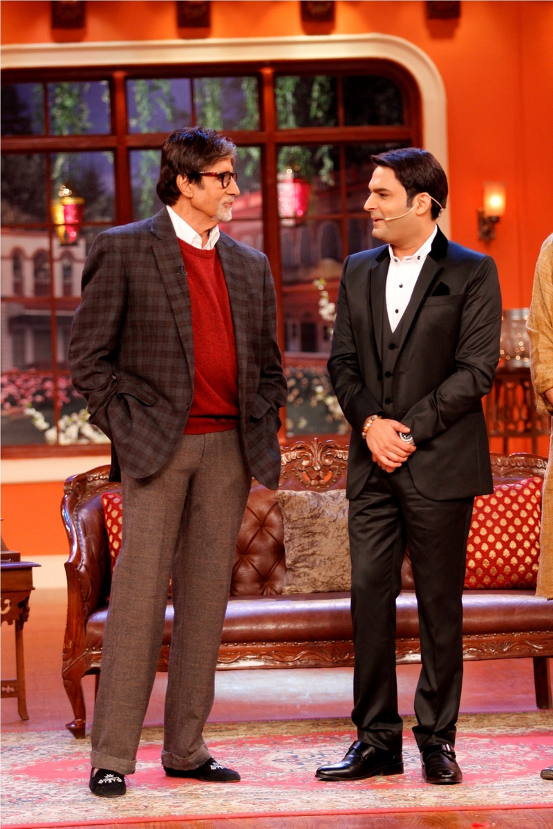 Amitabh Bachchan and Kapil Sharma