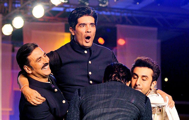 Manish Malhotra, Akshya Kumar, Ranbir Kapoor, Sidharth Malhotra