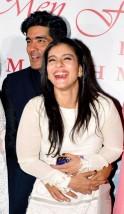 Manish Malhotra and Kajol