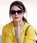 Preity Zinta votes in Lok Sabha Elections 2014