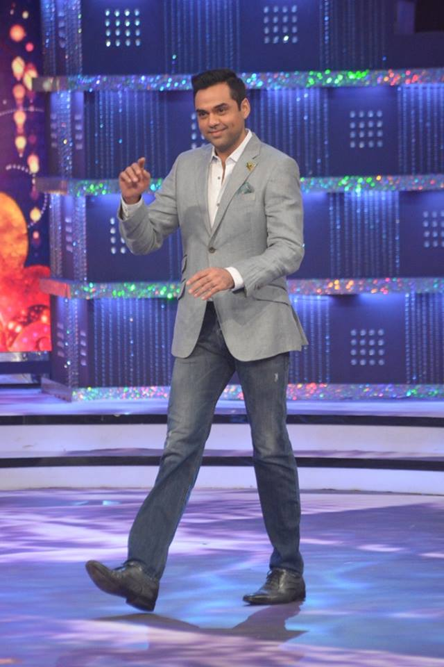 Judge Abhay Deol on stage at fbb Femina Miss India 2014.