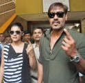 Kajol and Ajay Devgn