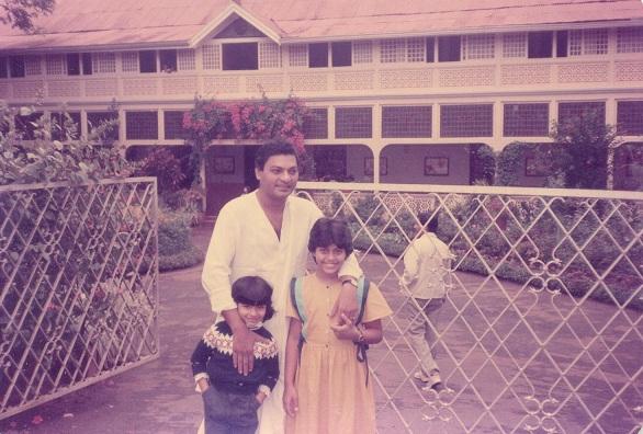 Shomu Mukerji, Kajol and Tanishaa