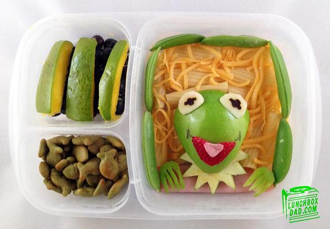 Kermit the Frog Lunch