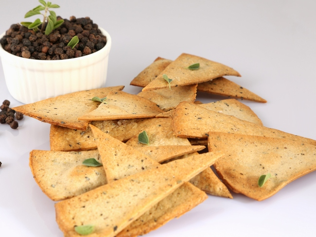 Oregano and Black Pepper Flatbread
