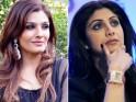 Raveena Tandon and Shilpa Shetty