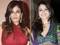 Raveena Tandon and Anushka Sharma