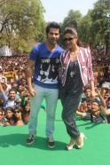 Varun Dhawan and Ileana recently visited Delhi to promote their new movie Main Tera Hero