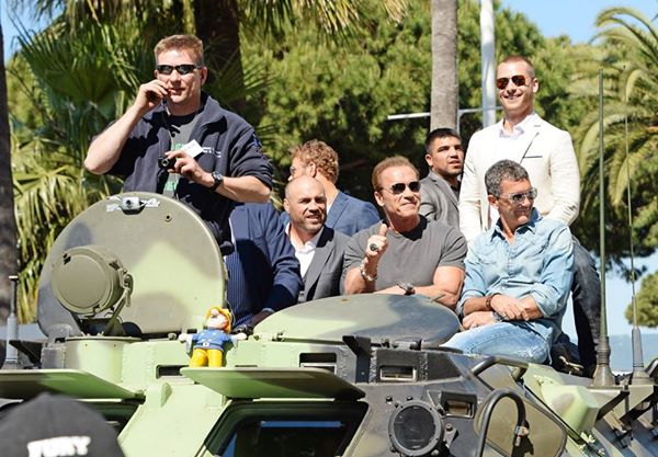 The Expendables only ride in one thing: a tank