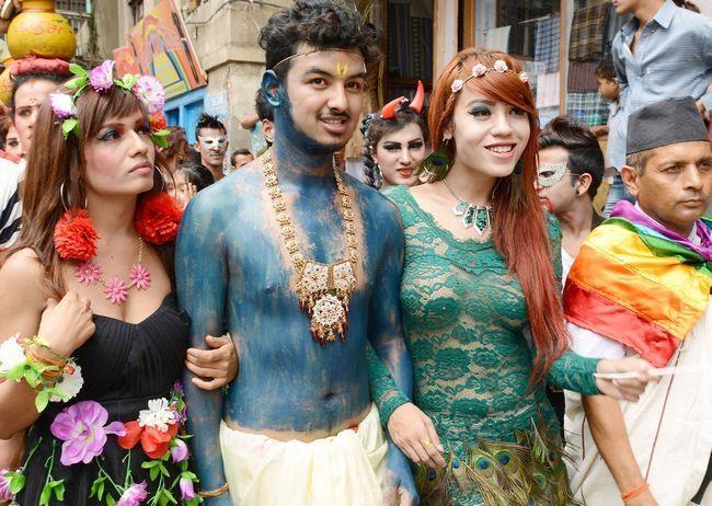 Nepalesisk Gay - Naked Mænd Fucking-5830