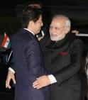 Modi Meets Abe