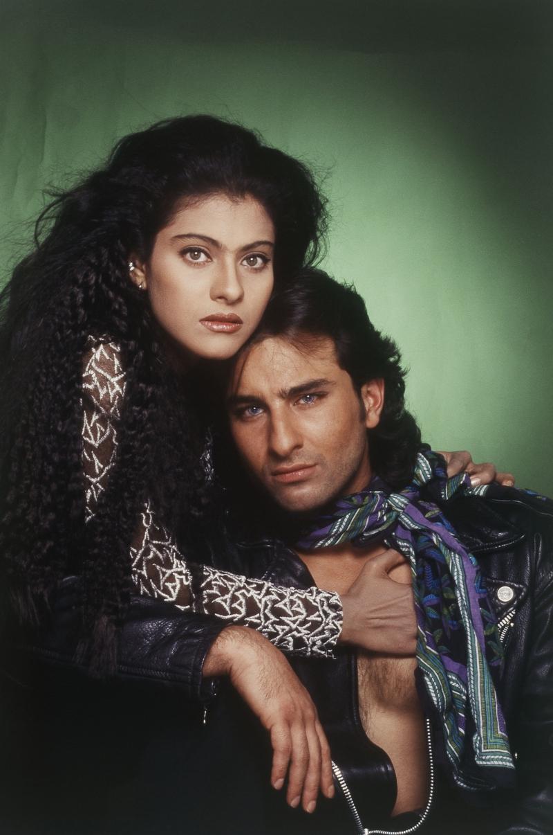 Kajol and Saif Ali Khan