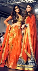 Chitrangada Singh and Harshita Chatterjee Deshpande
