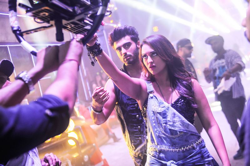 Arjun Kapoor and Sonakshi Sinha