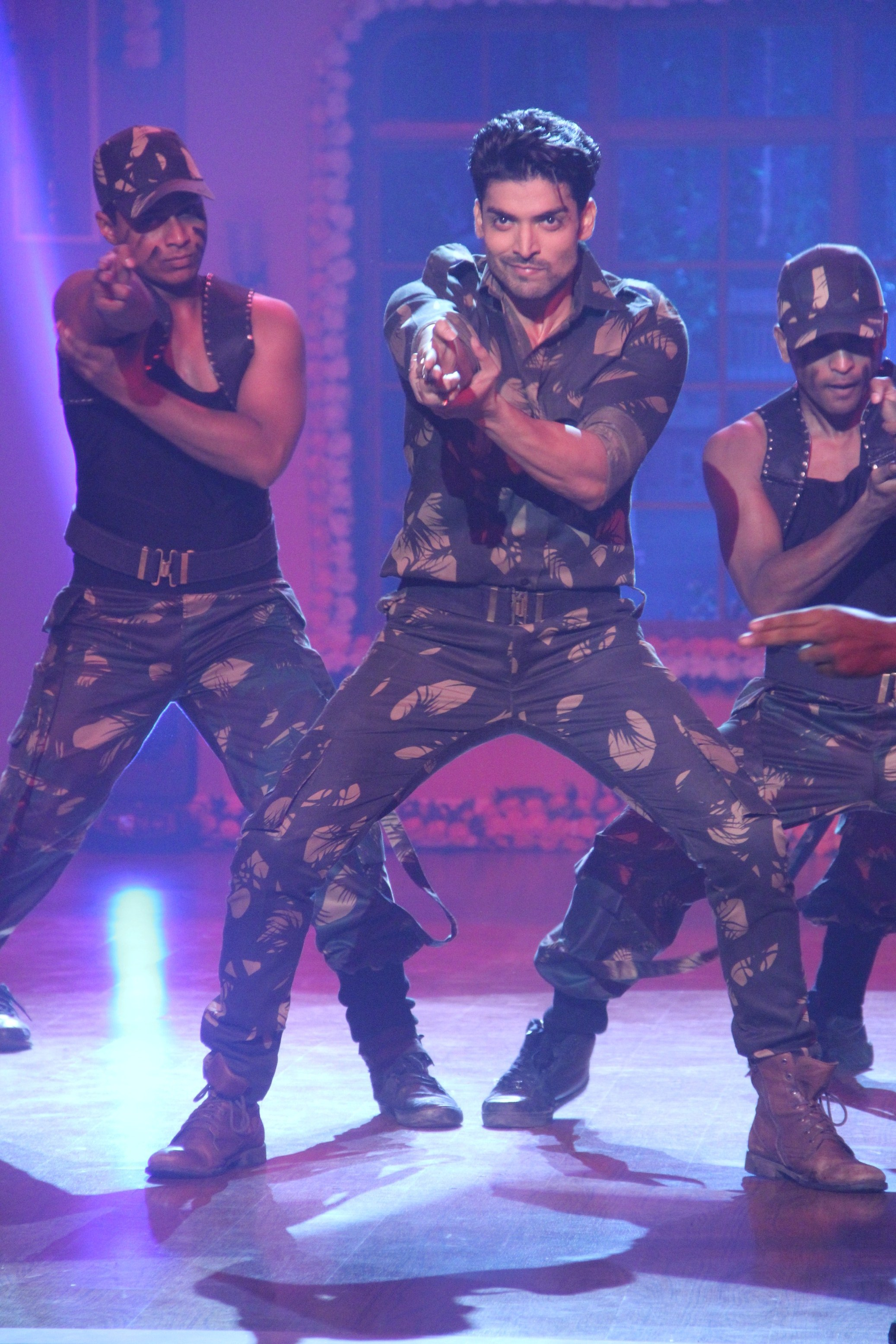 Gurmeet on the Independence Day special on Comedy Nights With Kapil.