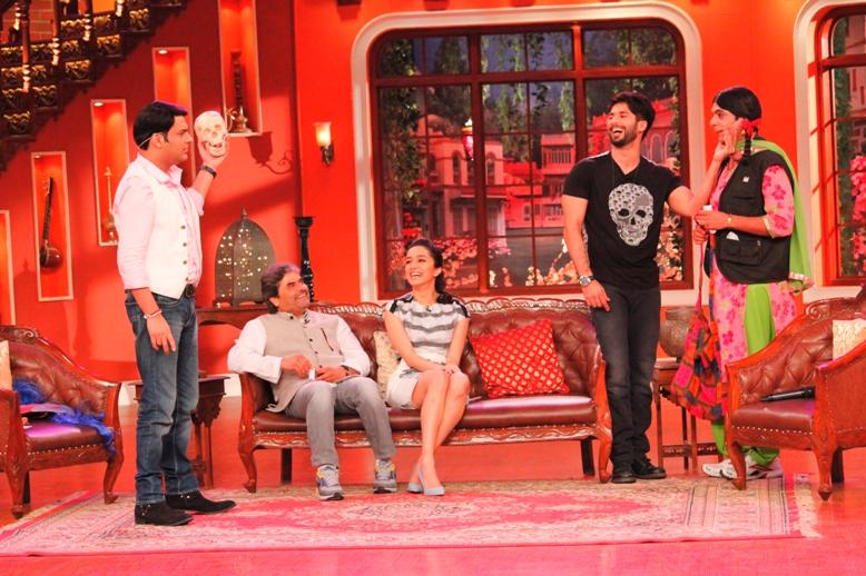 Shahid Kapoor, Shraddha Kapoor, Kapil Sharma, Vishal Bhardwaj, Gutthi