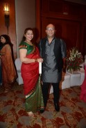 Amit Behl with wife