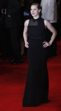 Amy Adams arrives at the British Academy of Film and Arts (BAFTA) awards ceremony at the Royal Opera House in London