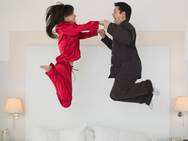 Jumping up and down immediately after sex can avoid pregnancy