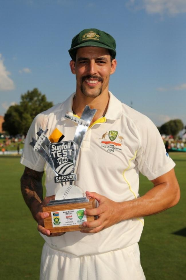 Man of the Match Mitchell Johnson 12 for 137