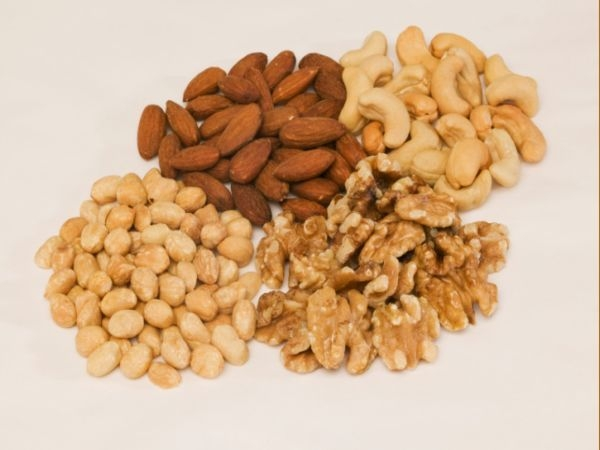 Beauty Tips: Foods For Acne Prone Skin Nuts