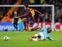 Yaya Toure, Lionel Messi