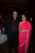 Kumar Mangat with wife