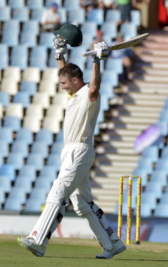 Shaun Marsh 144 in the 1st innings