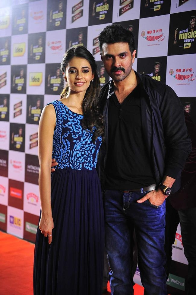 Harman Baweja and Ayesha Khanna