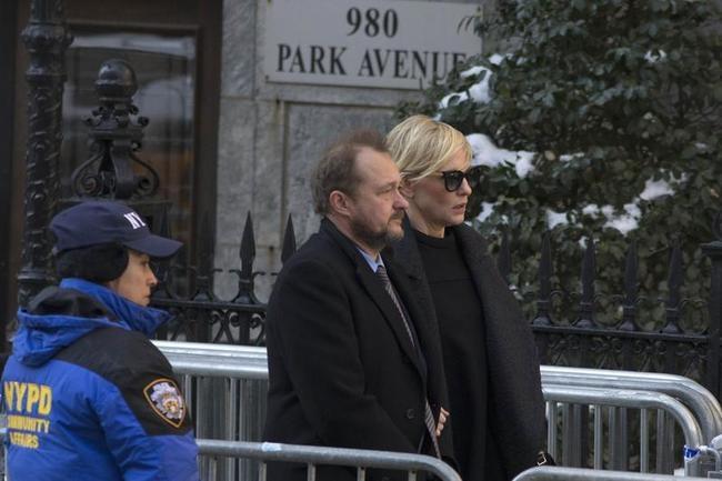 Phillip Seymour Hoffman Funeral...