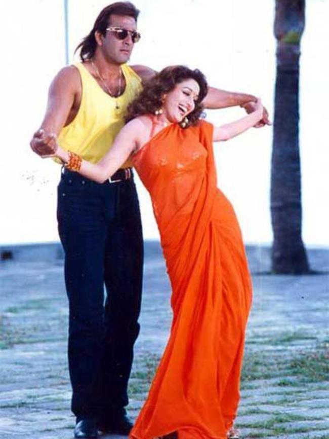 Madhuri Dixit & Sanjay Dutt